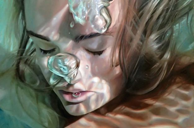 Amazing Realistic Underwater Paintings Reisha Perlmutter Realistic Underwater Paintings By Reisha Perlmutter