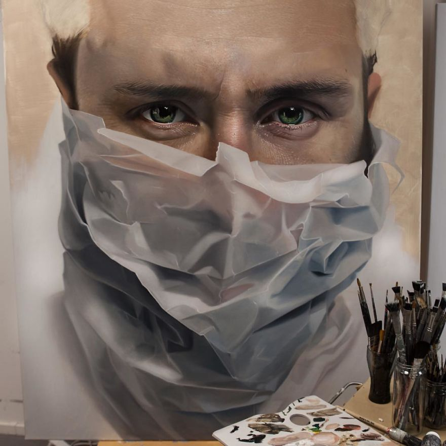 Detailed Photorealistic Paintings By Mike Dargas 77 Detailed Realistic Paintings By Mike Dargas