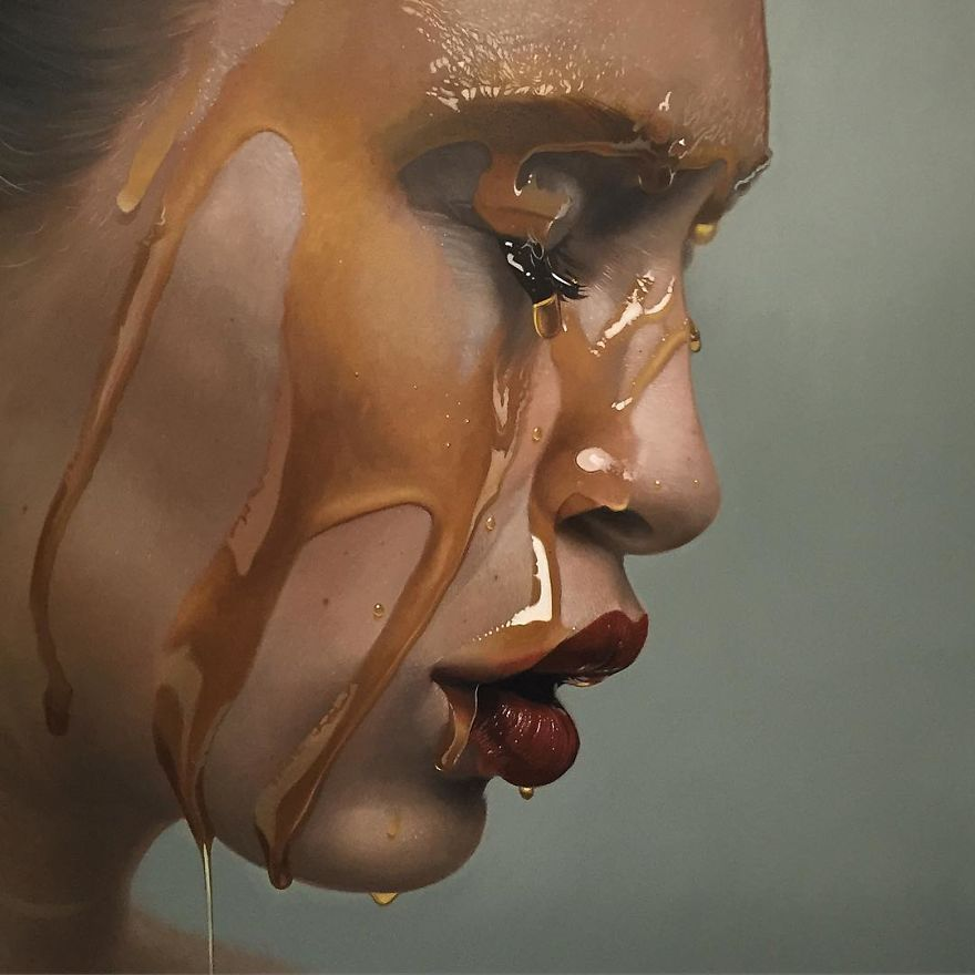 Detailed Photorealistic Paintings By Mike Dargas Detailed Realistic Paintings By Mike Dargas