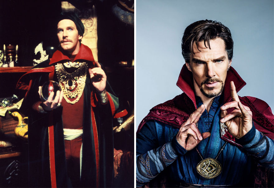 Doctor Strange Then And Now Look Like 15 Superheroes Then And Now Look Like