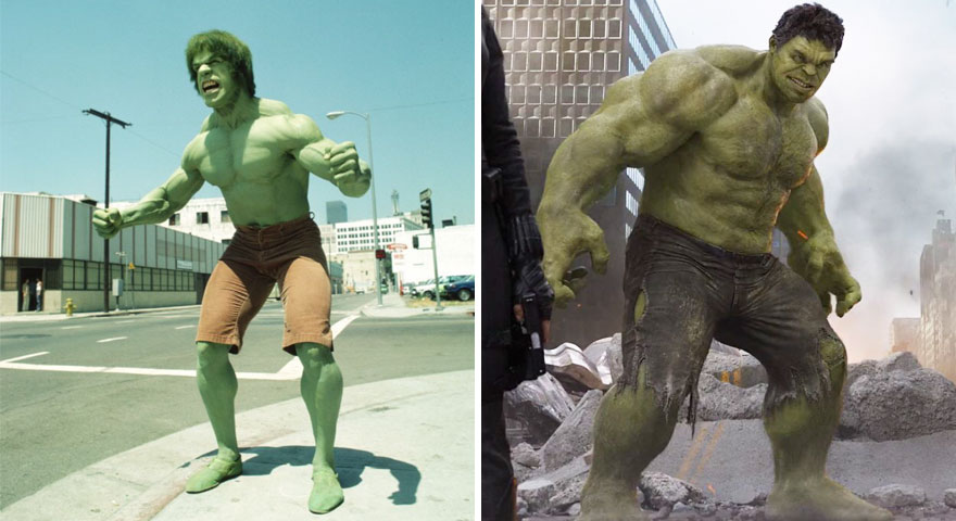 15 Superheroes Then And Now Look Like