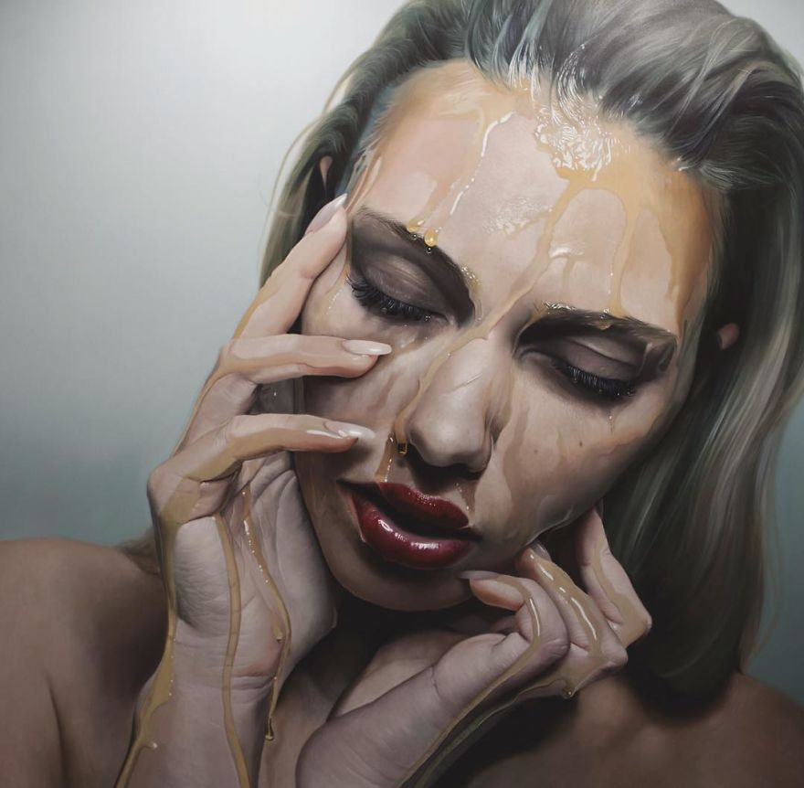 Incredible Photorealistic Paintings By Mike Dargas Detailed Realistic Paintings By Mike Dargas