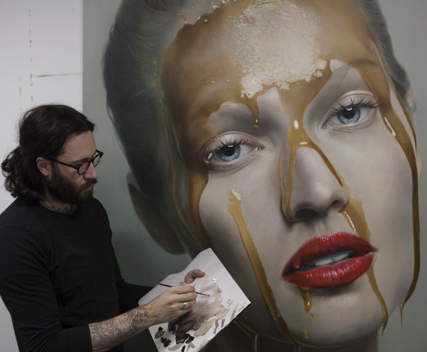 Incredible Realistic Paintings By Mike Dargas 77 Detailed Realistic Paintings By Mike Dargas