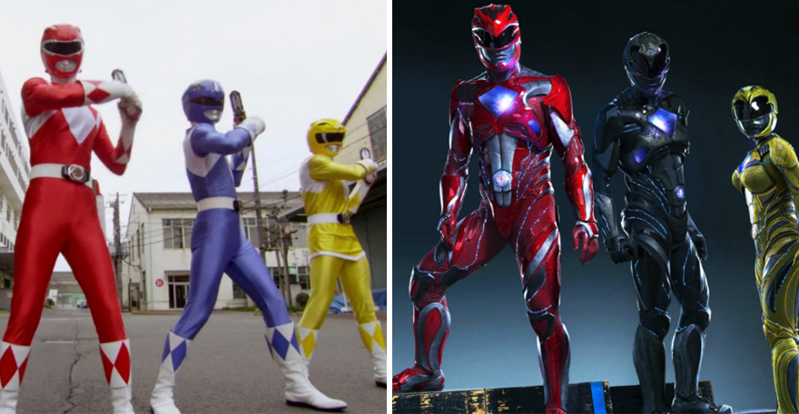 Power Rangers Then And Now Look Like 15 Superheroes Then And Now Look Like