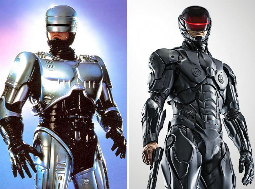 Robocop Then And Now Look Like 15 Superheroes Then And Now Look Like