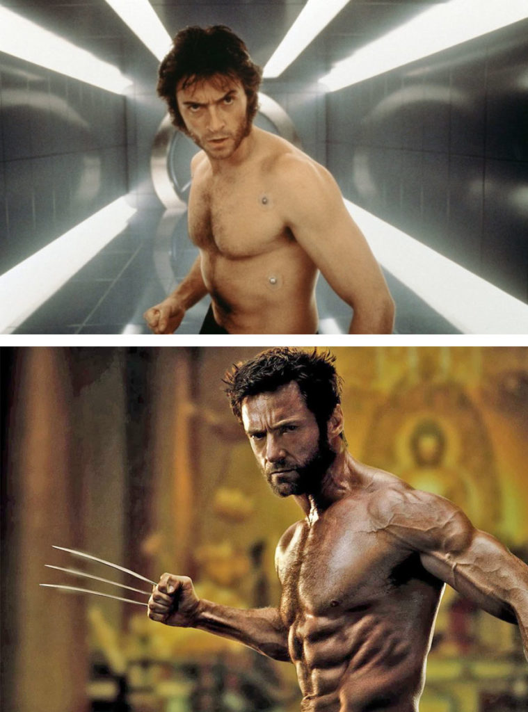 Wolverine Then And Now Look Like 759x1024 15 Superheroes Then And Now Look Like