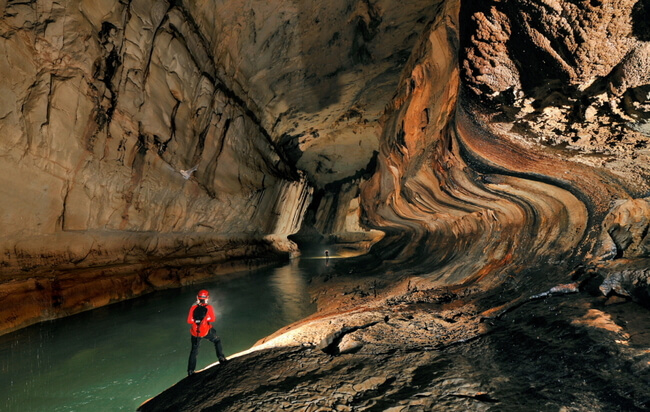 Underground Cave Photography of Robbie Shone