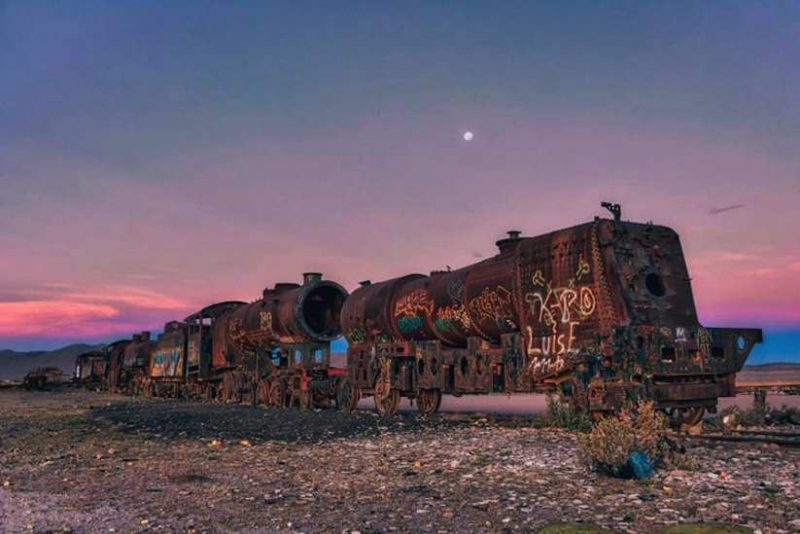 Beautiful Cemetery of Abandoned Trains in Bolivia by Chris Staring 7