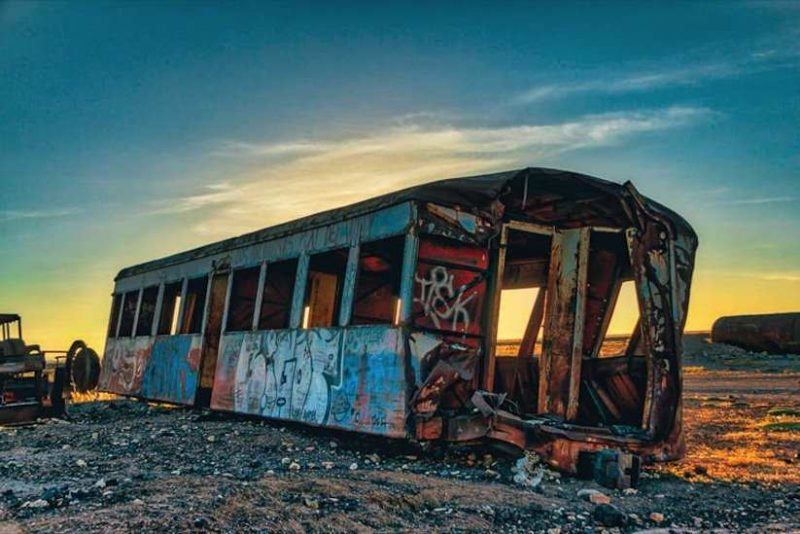 Stunning Cemetery of Abandoned Trains in Bolivia by Chris Staring 7