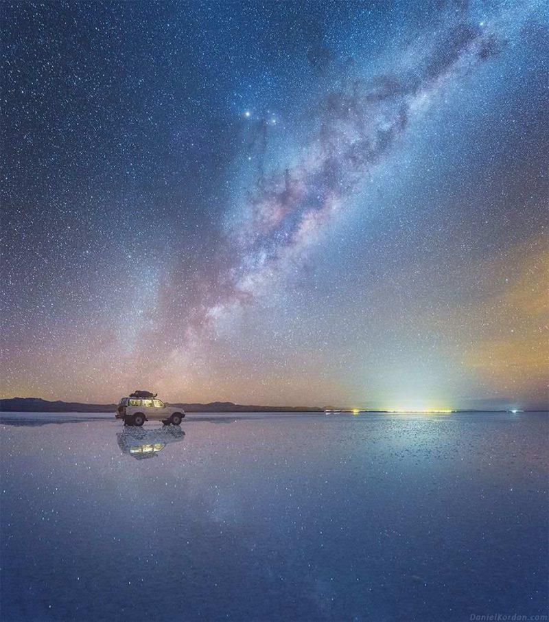 Beautiful Milky Way Reflected Photos 99 Beautiful Milky Way Reflected in Bolivia Salt Flats by Daniel Kordan