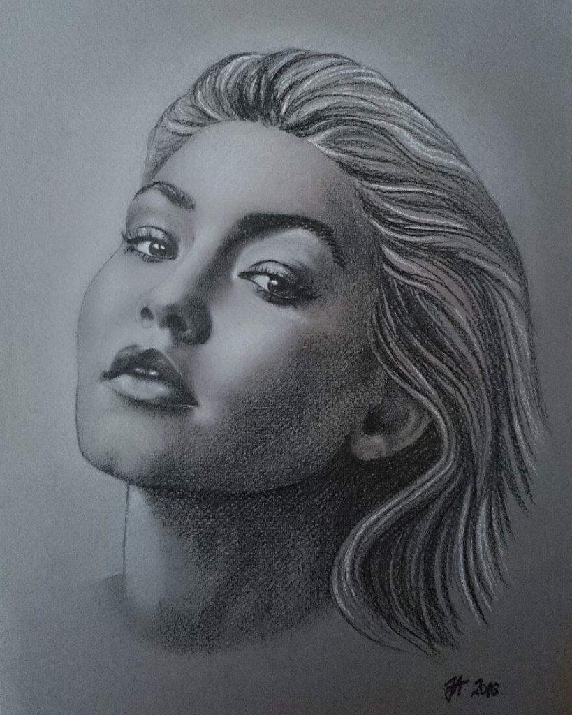 Beautiful Portrait Paintings by Aleksandra Janekovic Sribar