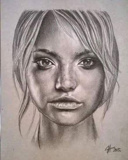 Beauty Portrait Paintings by Aleksandra Janekovic Sribar 1