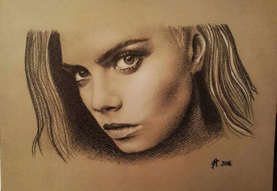 Beauty Portrait Paintings by Aleksandra Janekovic Sribar