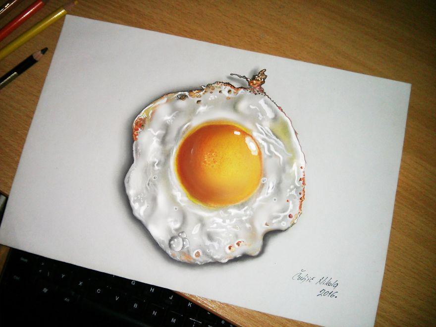 Realistic 3D Drawing by Nikola Čuljić 77 Mind Blowing 3D Drawing by Nikola Čuljić