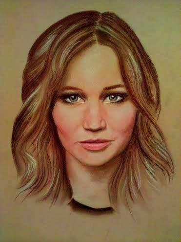 Wonderful Celebrity Paintings by Aleksandra Janekovic Sribar Beautiful Portrait by Self Taught Artist Aleksandra Janeković