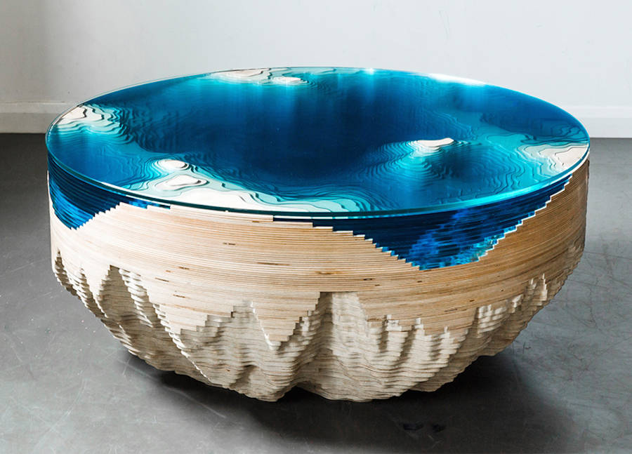 Abyss Horizon Unique Table by Duffy London 99 Abyss Horizon: The Unique Ocean Inspired Coffee Table