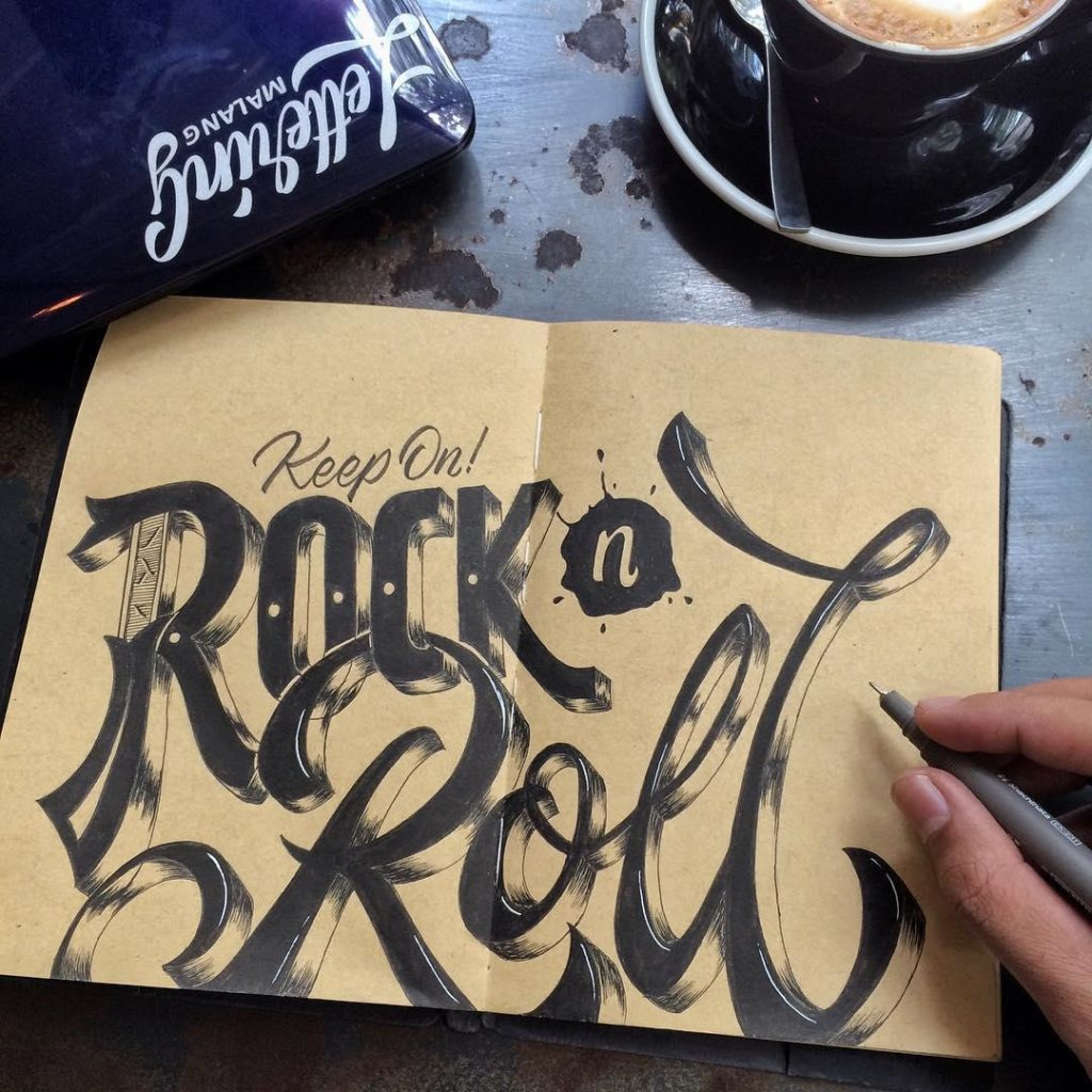 Beautiful Hand Lettering Examples 1024x1024 35 + Beautiful Hand Lettering Styles by Dimaz Fakhruddin