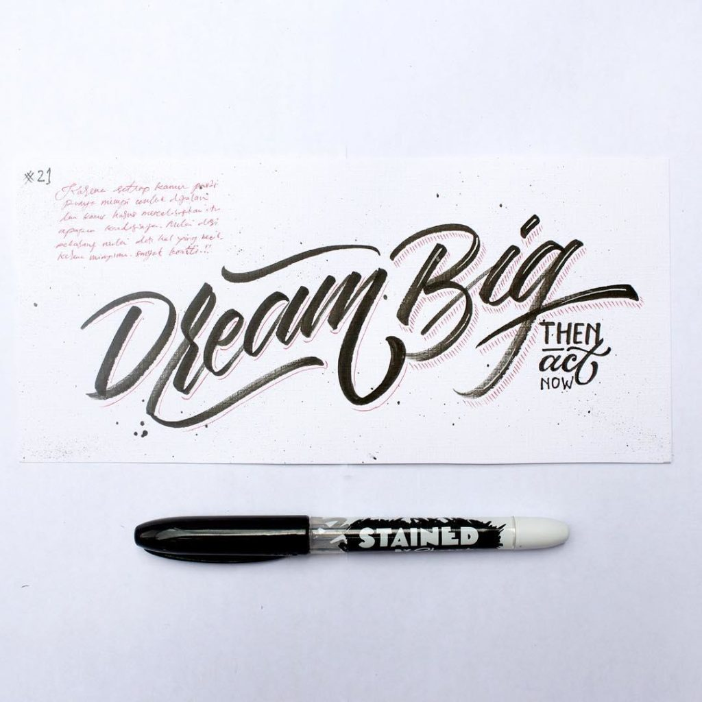 Beautiful Hand Lettering Ideas 1024x1024 35 + Beautiful Hand Lettering Styles by Dimaz Fakhruddin