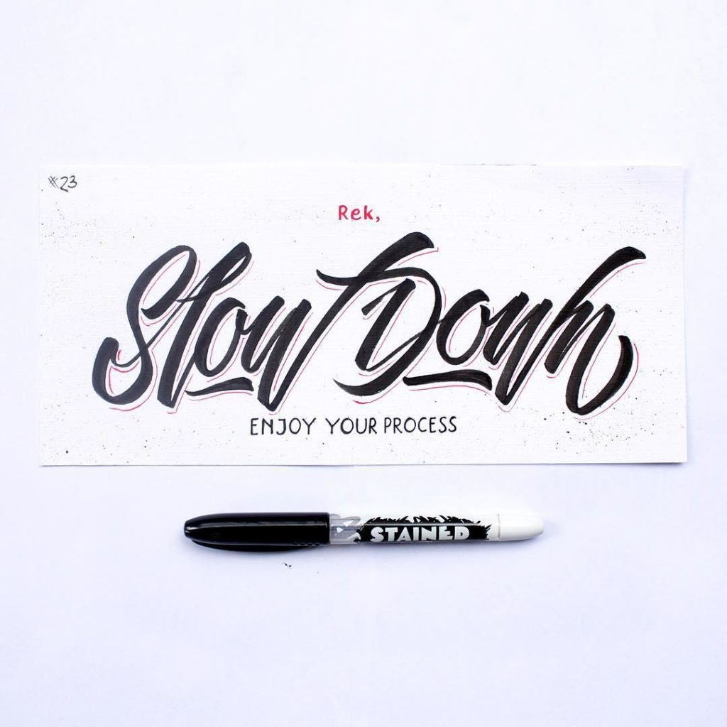 Beautiful Hand Lettering Ideas 2 1024x1024 35 + Beautiful Hand Lettering Styles by Dimaz Fakhruddin