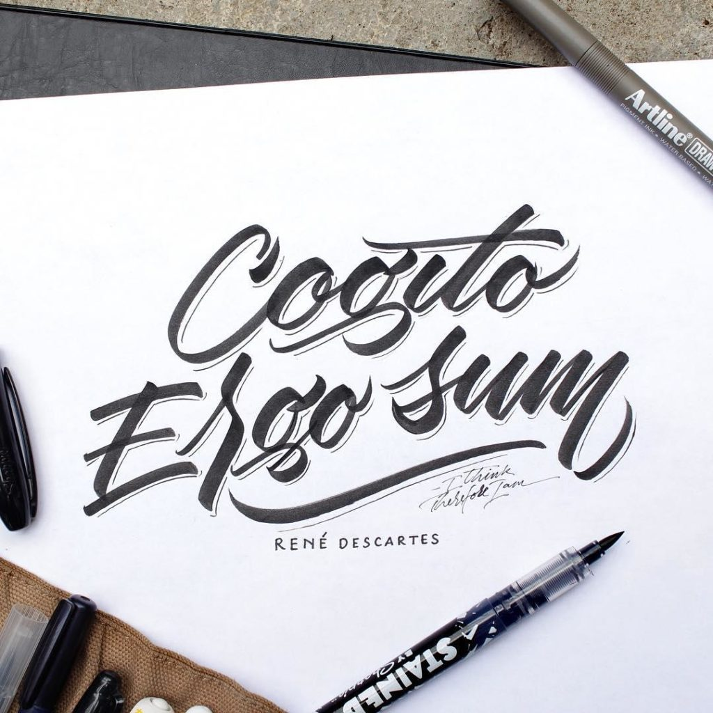 Beautiful Hand Lettering Styles 1024x1024 35 + Beautiful Hand Lettering Styles by Dimaz Fakhruddin