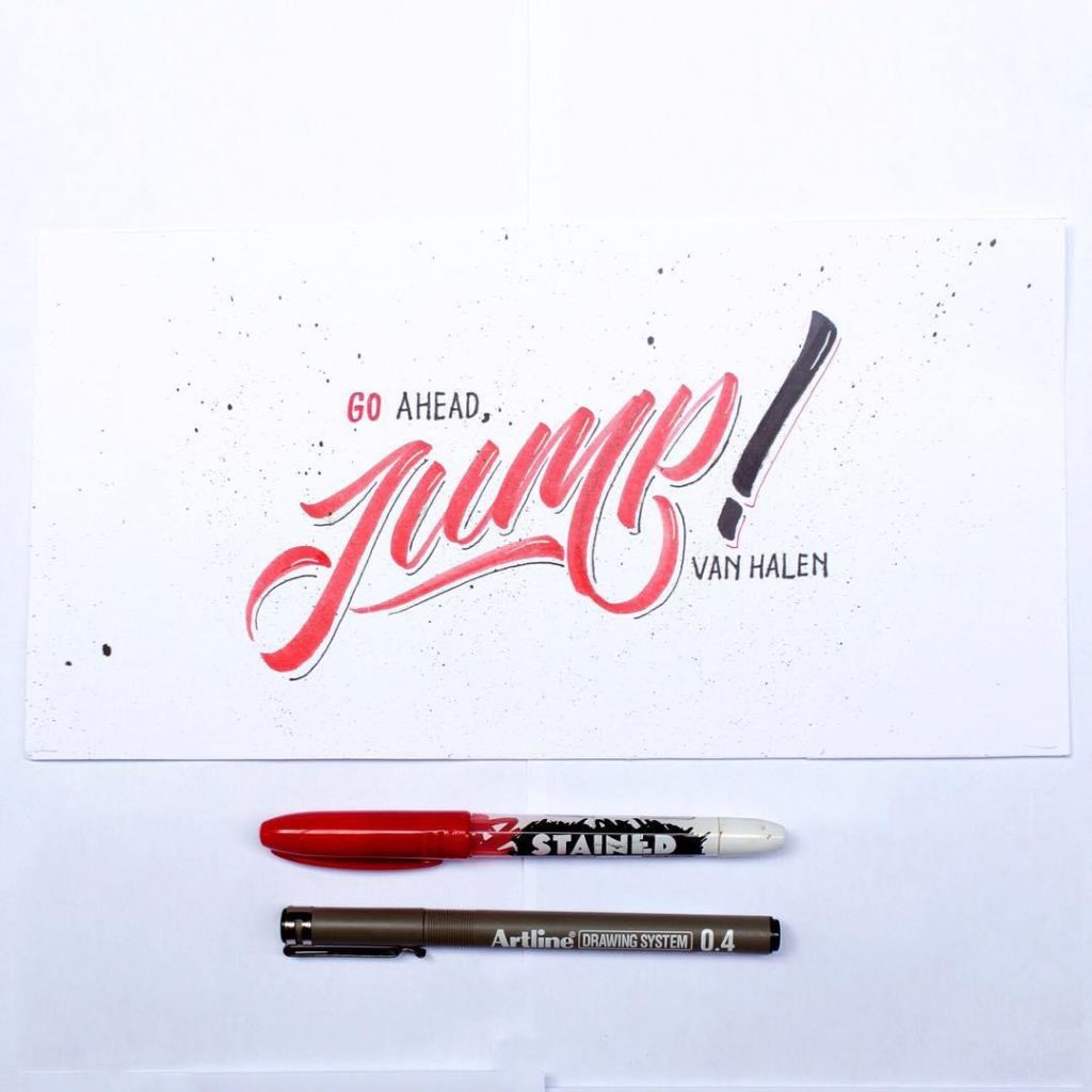 Beautiful Hand Lettering Styles by Dimaz Fakhruddin 1024x1024 35 + Beautiful Hand Lettering Styles by Dimaz Fakhruddin
