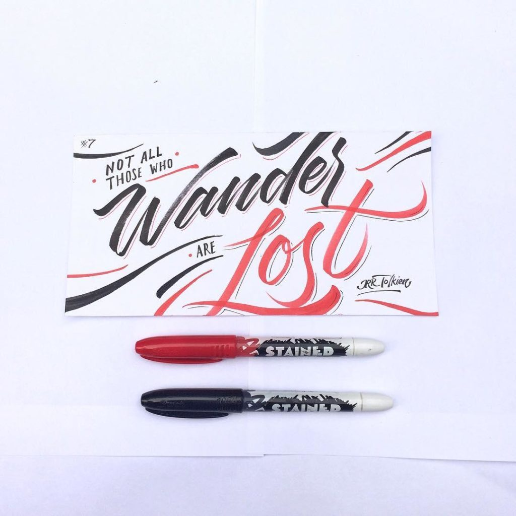 Stunning Hand Lettering Ideas 44 1024x1024 35 + Beautiful Hand Lettering Styles by Dimaz Fakhruddin