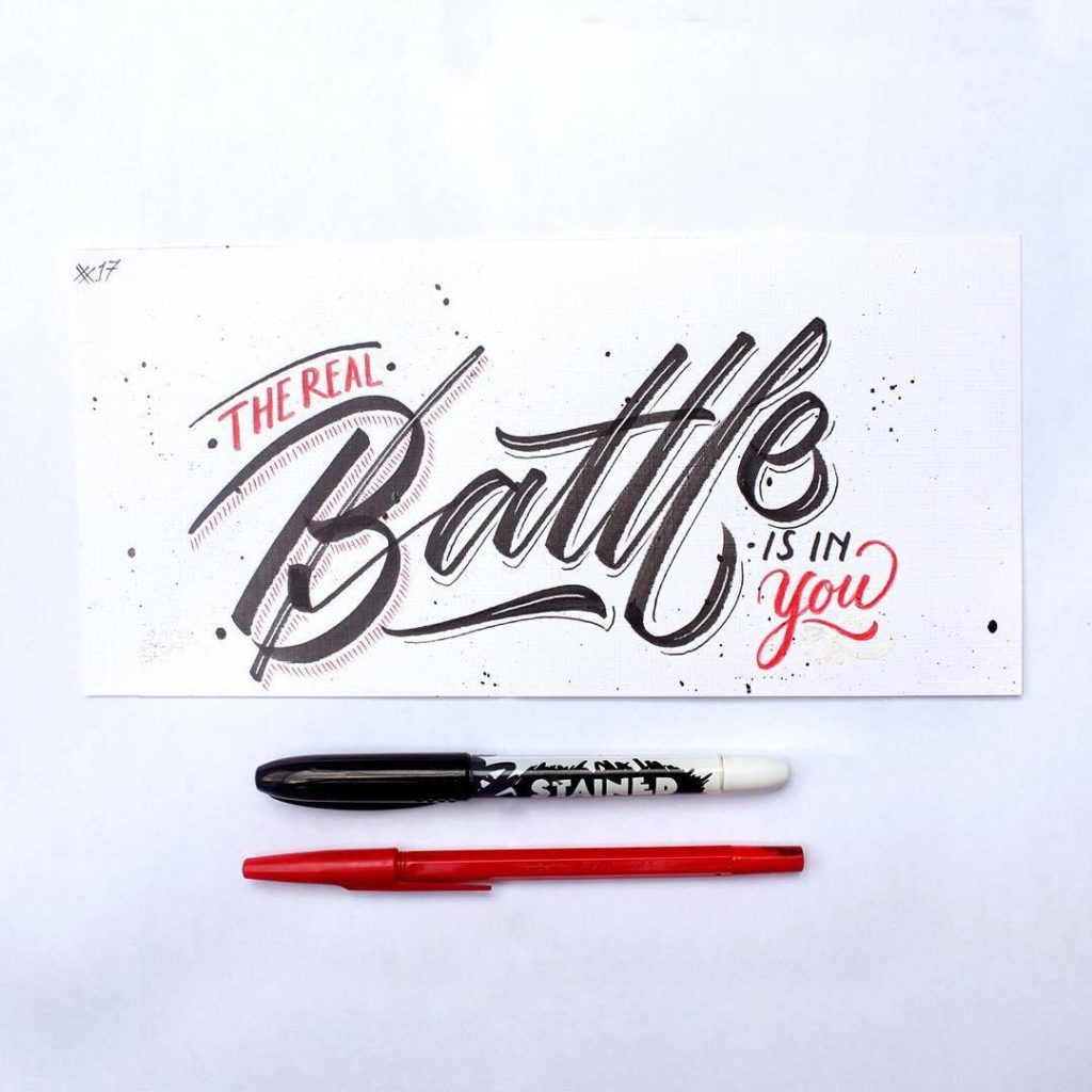 Stunning Hand Lettering Ideas 5 1024x1024 35 + Beautiful Hand Lettering Styles by Dimaz Fakhruddin