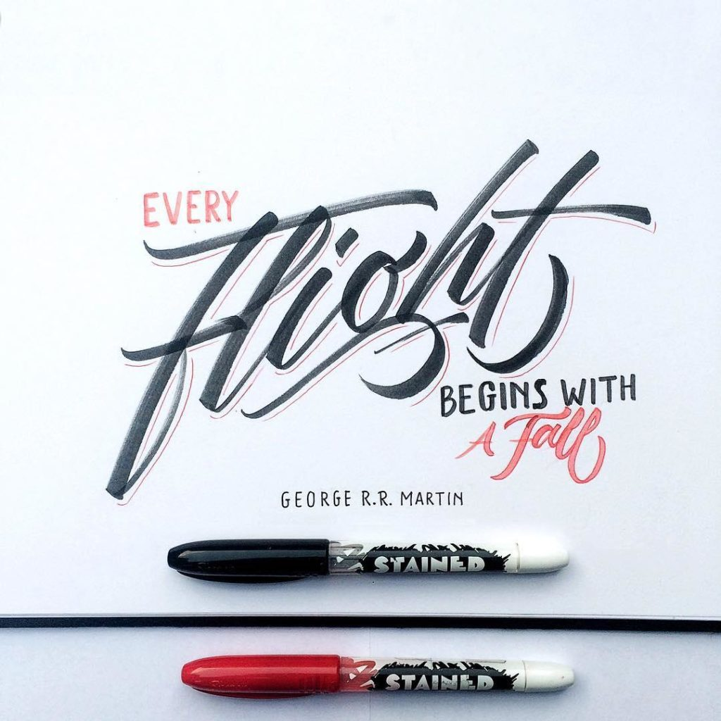 Stunning Hand Lettering Styles 1024x1024 35 + Beautiful Hand Lettering Styles by Dimaz Fakhruddin