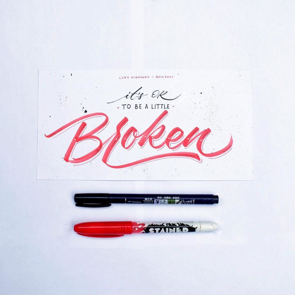 Wonderful Hand Lettering Examples 4 1024x1024 35 + Beautiful Hand Lettering Styles by Dimaz Fakhruddin