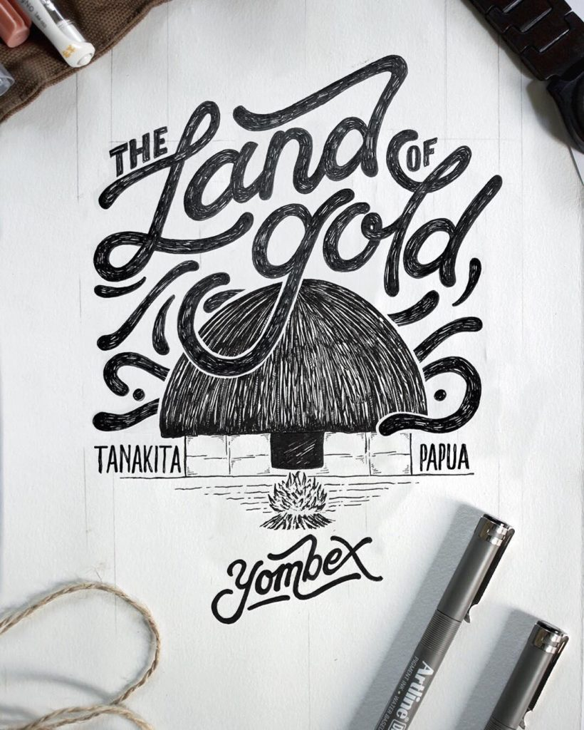 Wonderful Hand Lettering Ideas 1 820x1024 35 + Beautiful Hand Lettering Styles by Dimaz Fakhruddin