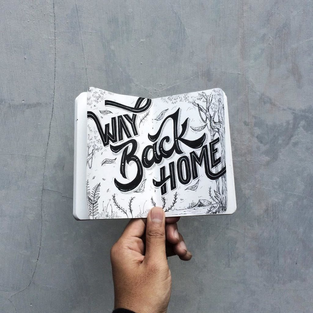 Wonderful Hand Lettering Ideas 2 1024x1024 35 + Beautiful Hand Lettering Styles by Dimaz Fakhruddin