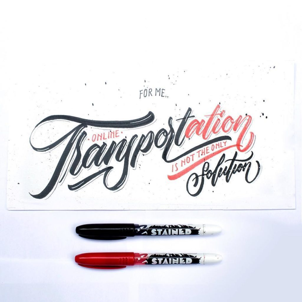 Wonderful Hand Lettering Ideas 3 1024x1024 35 + Beautiful Hand Lettering Styles by Dimaz Fakhruddin