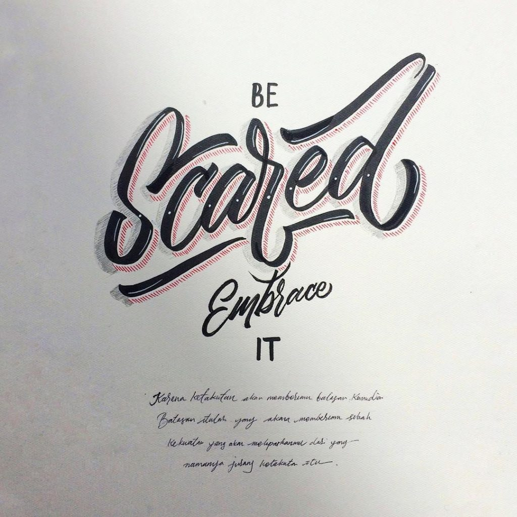 Wonderful Hand Lettering Ideas 6 1024x1024 35 + Beautiful Hand Lettering Styles by Dimaz Fakhruddin