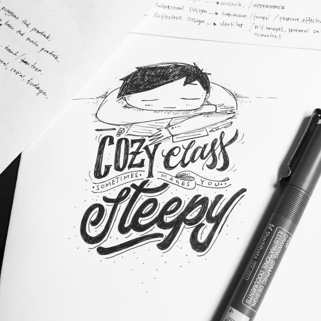 Wonderful Hand Lettering Ideas 7 1024x1024 35 + Beautiful Hand Lettering Styles by Dimaz Fakhruddin