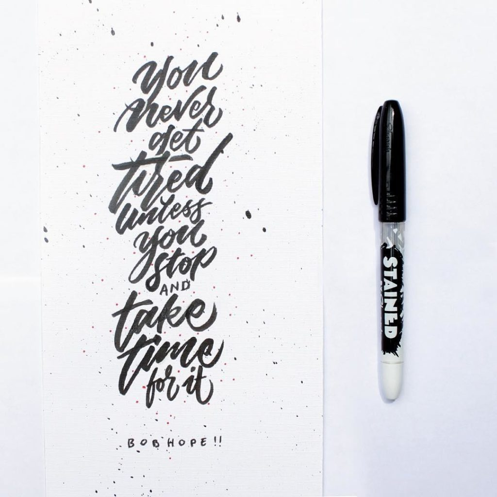 Wonderful Hand Lettering Ideas 88 1024x1024 35 + Beautiful Hand Lettering Styles by Dimaz Fakhruddin