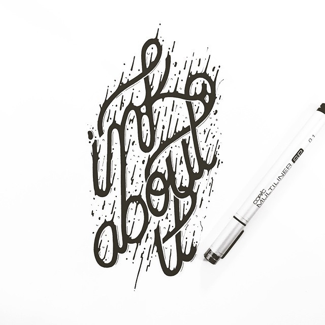 Amazing Hand Lettering Artworks by Raul Alejandro 20+ Detailed Hand Lettering Artworks by Raul Alejandro