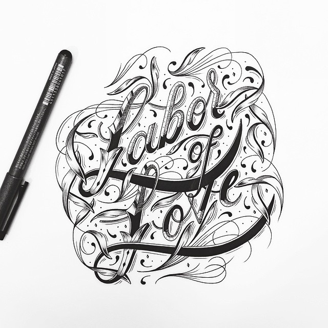 Beautiful Hand Lettering Artworks by Raul Alejandro 99 20+ Detailed Hand Lettering Artworks by Raul Alejandro