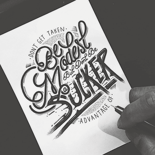 Beautiful Hand Lettering by Raul Alejandro 20+ Detailed Hand Lettering Artworks by Raul Alejandro