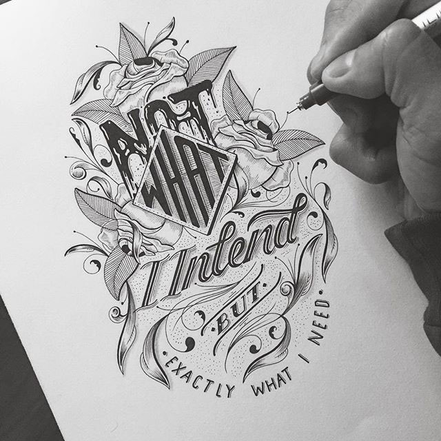 Beauty Hand Lettering Artworks by Raul Alejandro 77 20+ Detailed Hand Lettering Artworks by Raul Alejandro