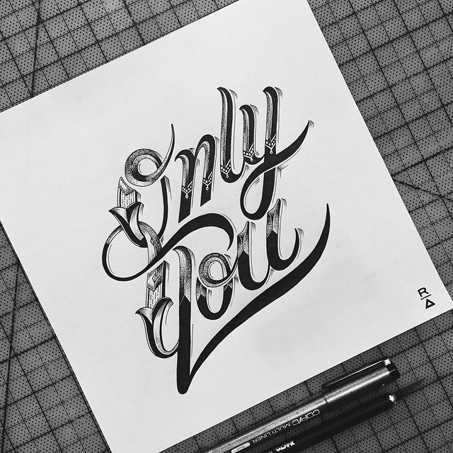 Cool Hand Lettering Artworks by Raul Alejandro 20+ Detailed Hand Lettering Artworks by Raul Alejandro
