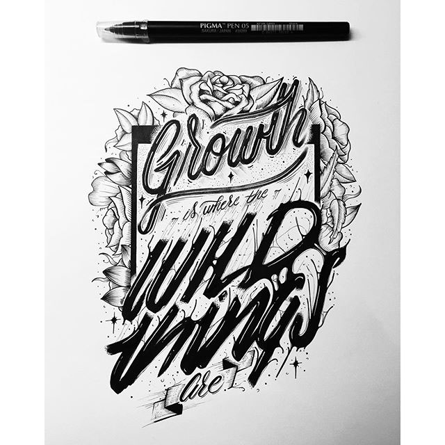 Detailed Hand Lettering Artworks by Raul Alejandro 14 20+ Detailed Hand Lettering Artworks by Raul Alejandro