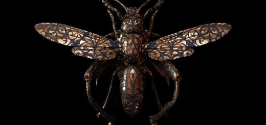 Engraved Entomology: Stunning Digital Illustrations by Billelis
