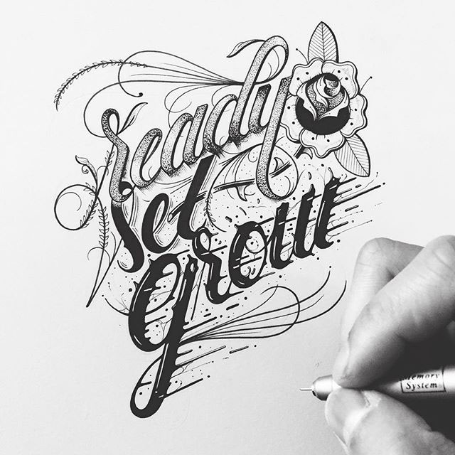 Hand Lettering Artworks by Raul Alejandro 20+ Detailed Hand Lettering Artworks by Raul Alejandro