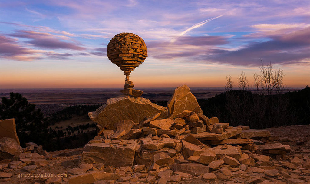 Incredible Gravity Glue Stone Art by Michael Grab 1024x608 Gravity Glue: Stone Stacking Art by Michael Grab