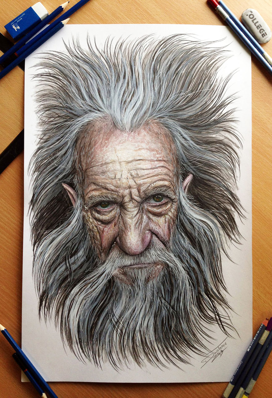 Detailed Pencil Drawings By Dino Tomic