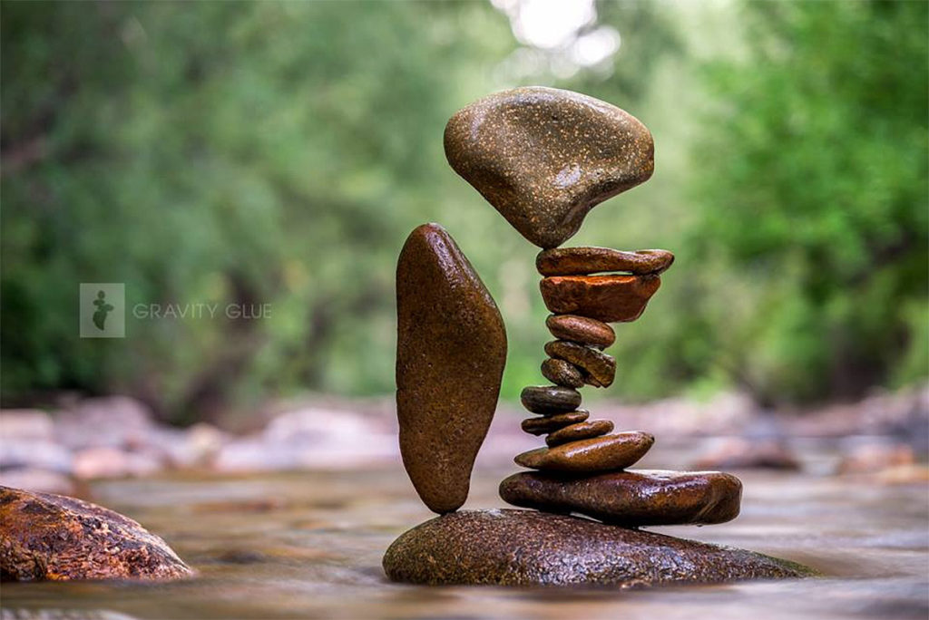 Stone Stacking Art by Michael Grab 1024x684 Gravity Glue: Stone Stacking Art by Michael Grab