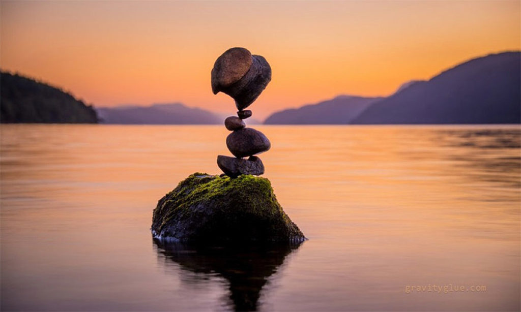 Stunning Gravity Glue Stone Art by Michael Grab 1024x614 Gravity Glue: Stone Stacking Art by Michael Grab
