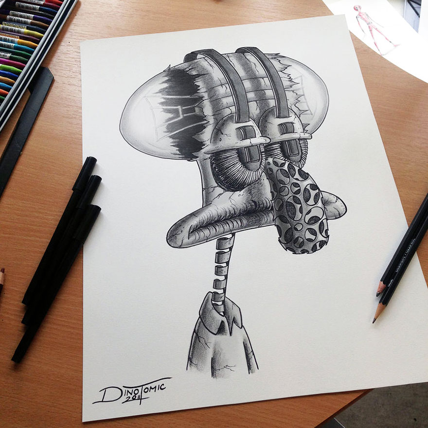 Stunning Pencil Drawings By Dino Tomic 7 Detailed Pencil Drawings By Dino Tomic
