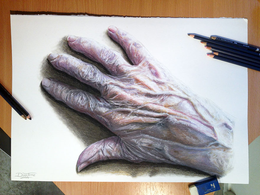Stunning Pencil Drawings By Dino Tomic Detailed Pencil Drawings By Dino Tomic