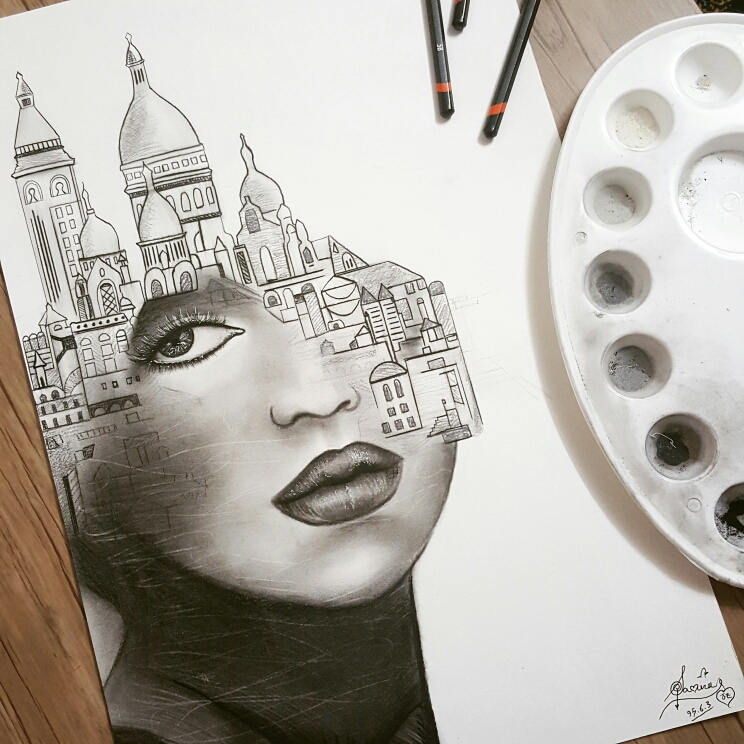 Stunning pencil drawings ideas 5